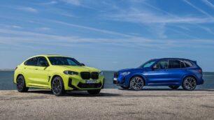 Así son los renovados BMW X3 M y X4 M Competition 2021: más par y un diseño más radical