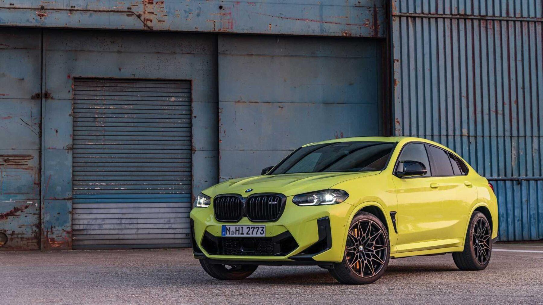 Los BMW X3 M y X4 M Competition tienen un diseño renovado