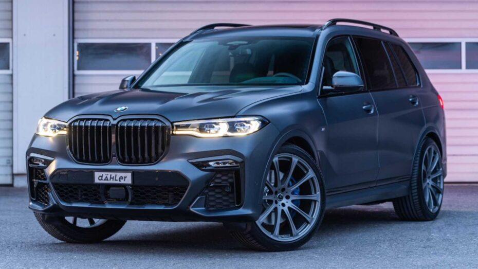 El siniestro BMW X7 Dark Shadow Edition ahora con más de 600 CV