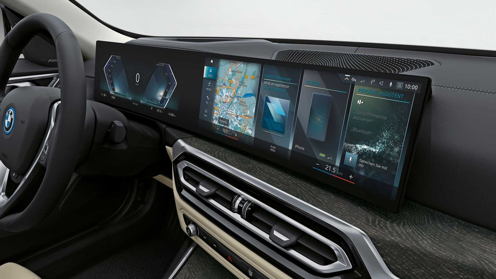 iDrive BMW i4
