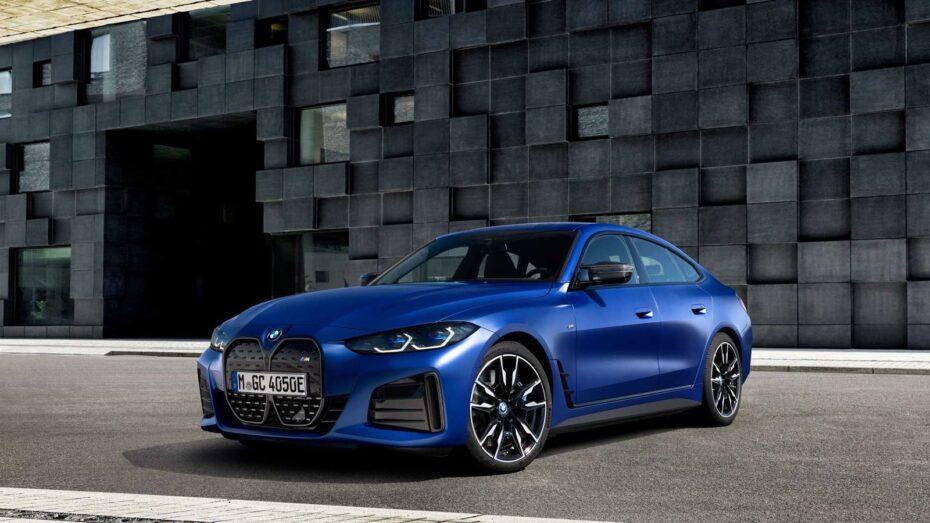 Así es el BMW i4, un nuevo eléctrico que nos anticipa al Serie 4 Gran Coupé