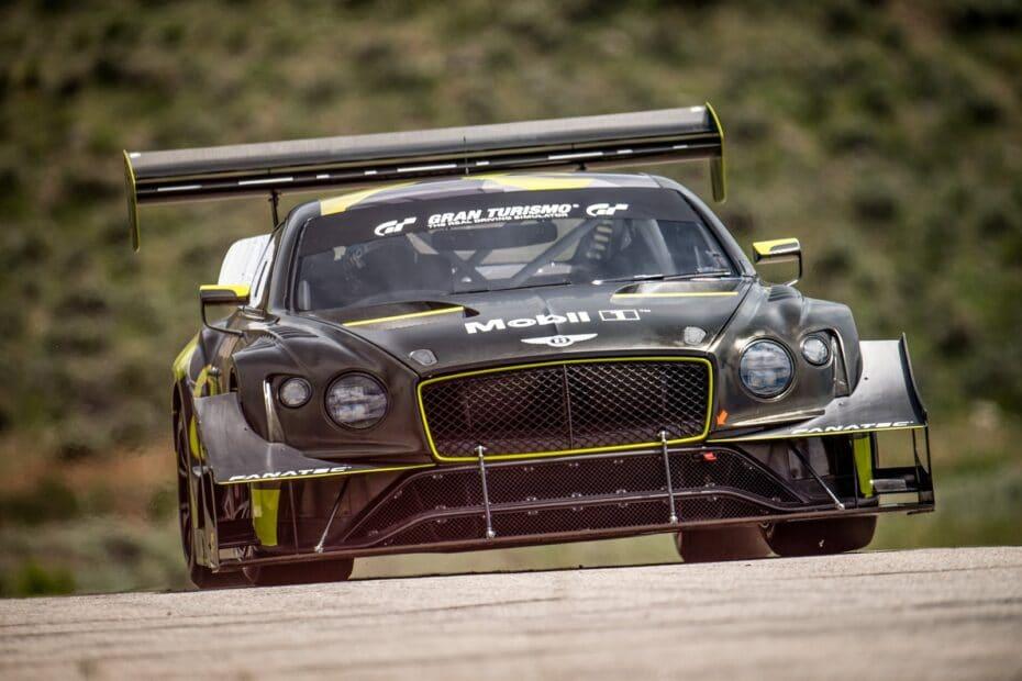 El Bentley Continental GT3 Pikes Peak debutará el Pikes Peak con e-gasolina