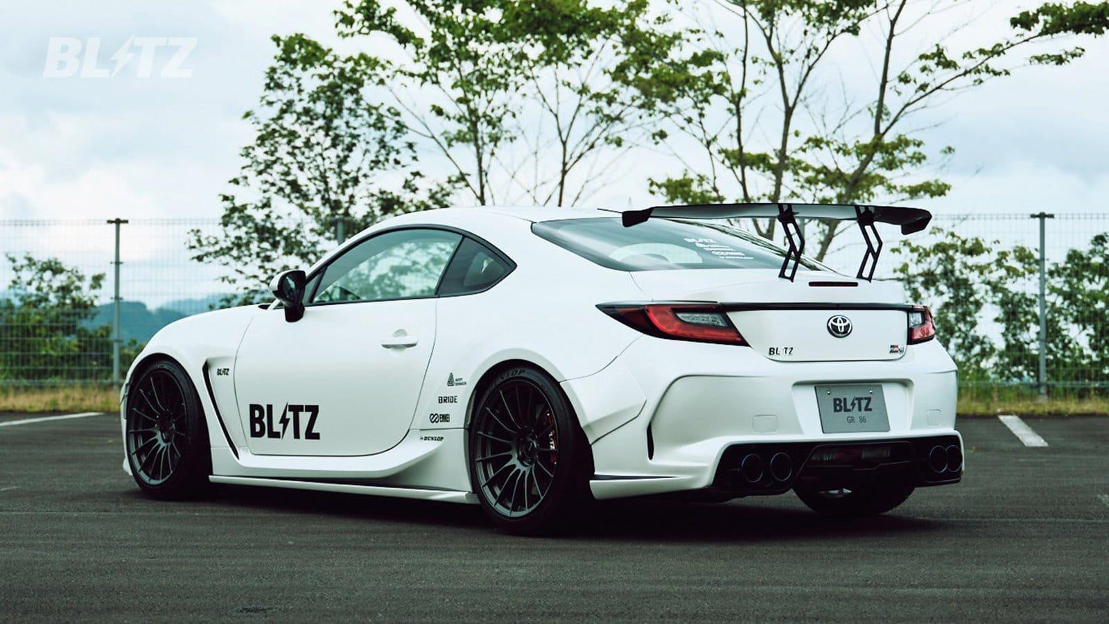 El Blitz GR 86 Concept promete emociones fuertes