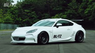 El Blitz GR 86 Concept se ha presentado en el en Fuji Speedway en Japón