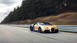 El Bugatti Chiron Super Sport de prueba a 440 km/h