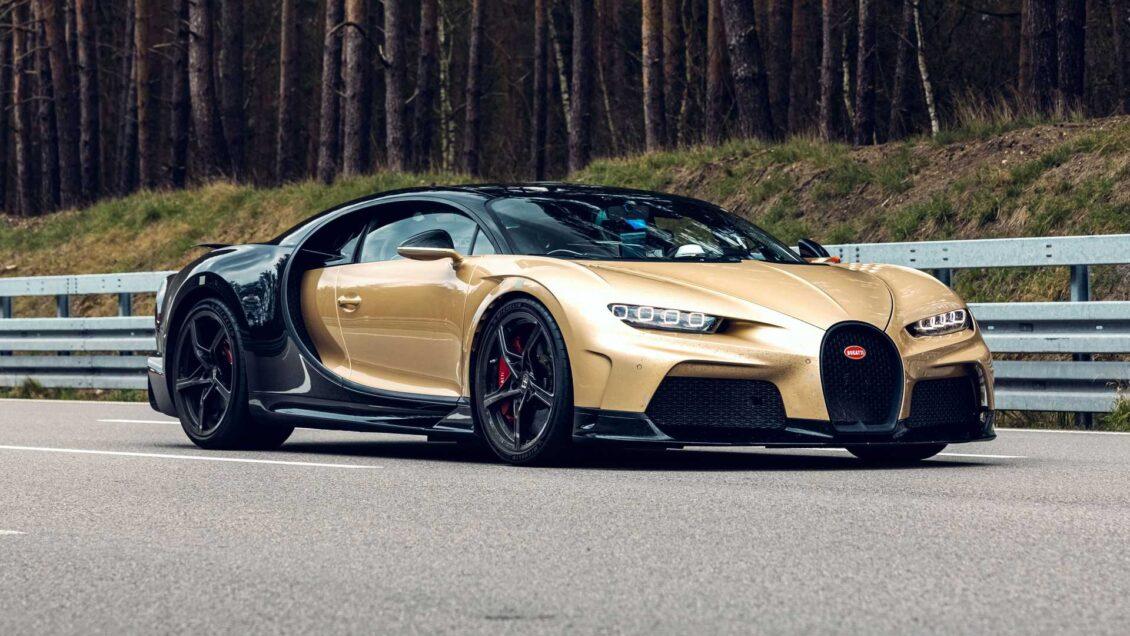 El Bugatti Chiron Super Sport ultima su fase de pruebas a 440 km/h