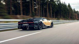 Más de 100 sensores adicionales miden posibles errores en el Bugatti Chiron Super Sport