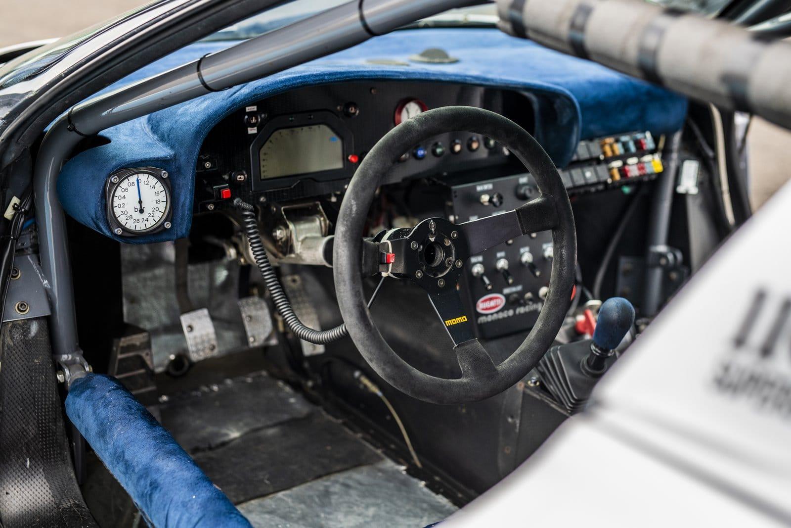 Interior Bugatti EB 110 Sport