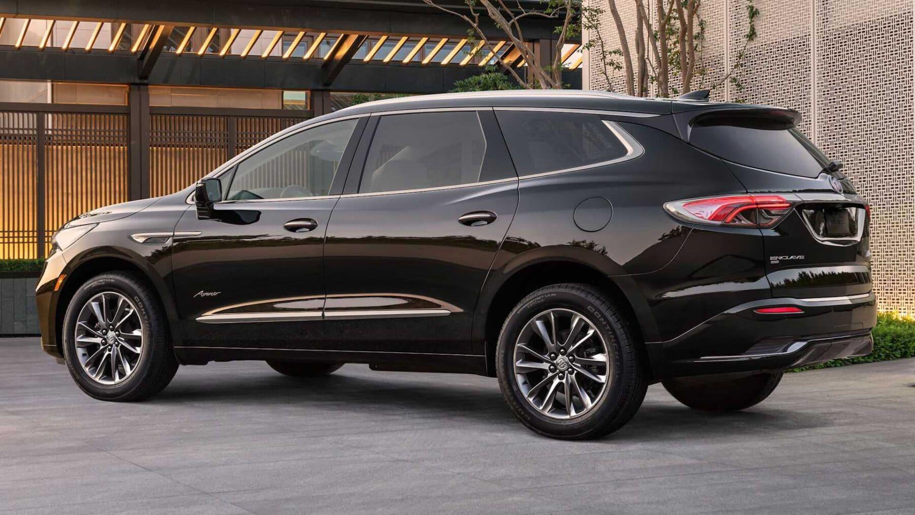 Buick Enclave 2022 recibe leves mejoras de mitad de ciclo