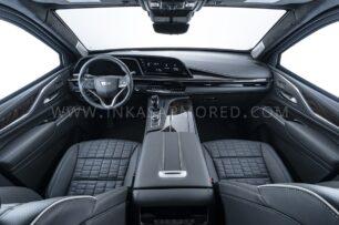 El Cadillac Escalade de Inkas mantiene el lujo interior
