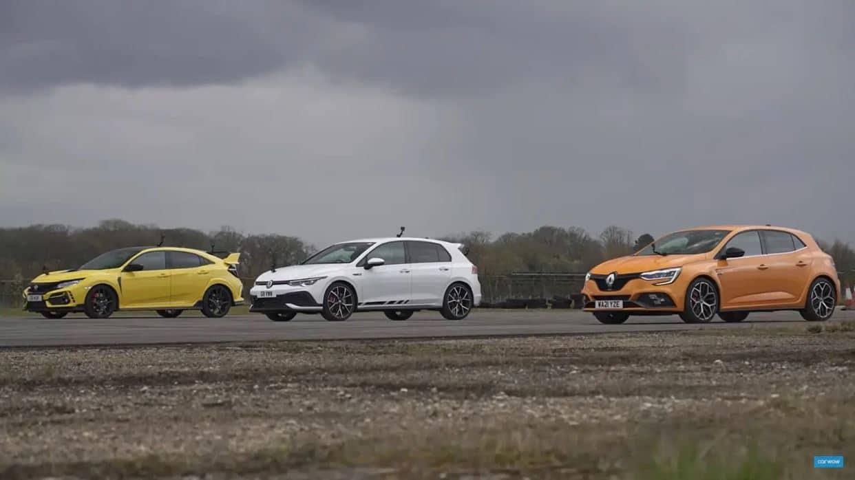 El Volkswagen Golf GTI Clubsport se enfrenta a sus rivales