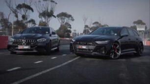 [Vídeo] Audi RS 6 Avant vs. Mercedes-AMG E 63 S: ¿Apuestas por la berlina o por el familiar?