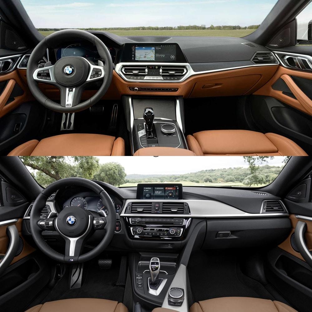 El interior del BMW Serie 4 Gran Coupé ha evolucionado positivamente