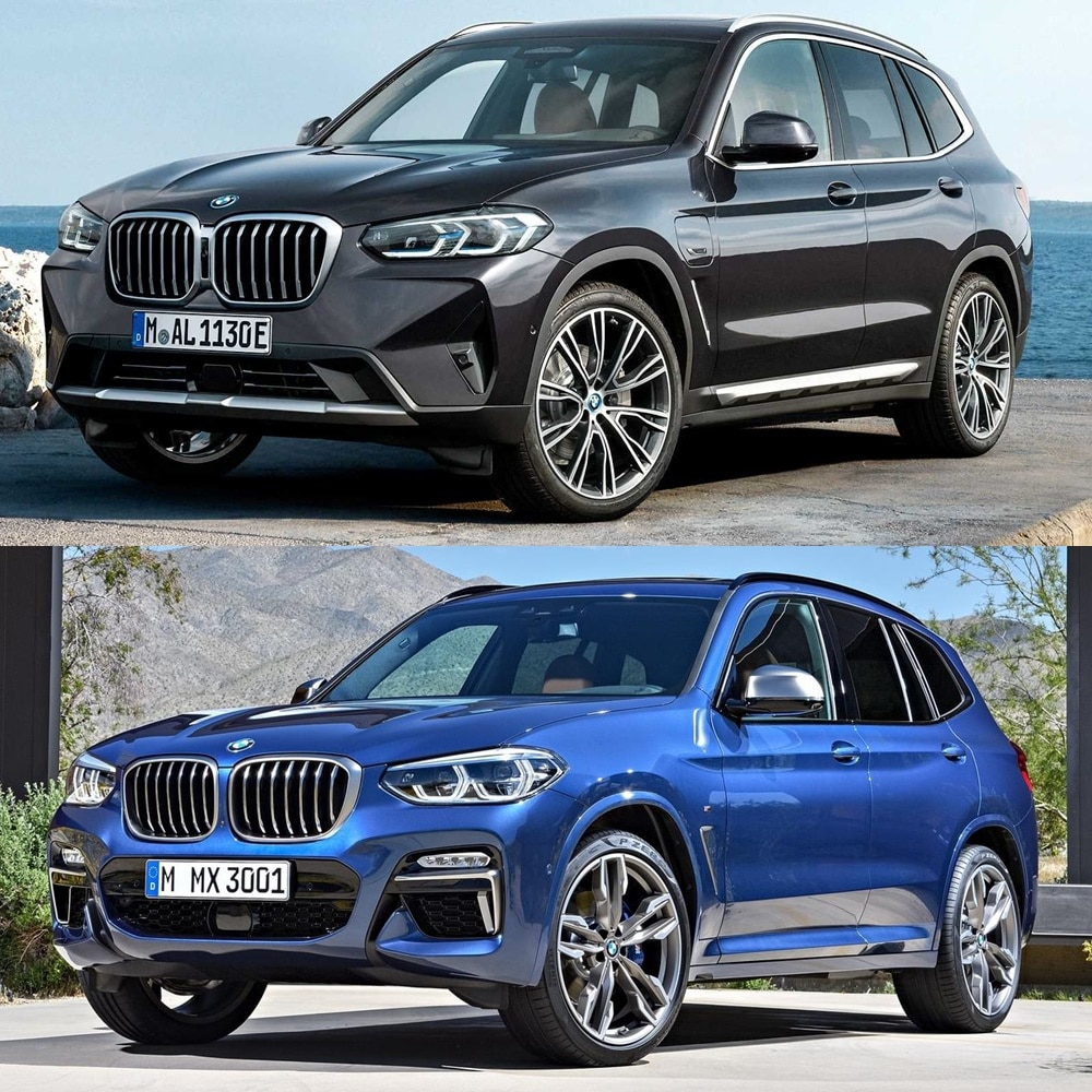 Los BMW X3 y X4 2021 lucen un aspecto renovado