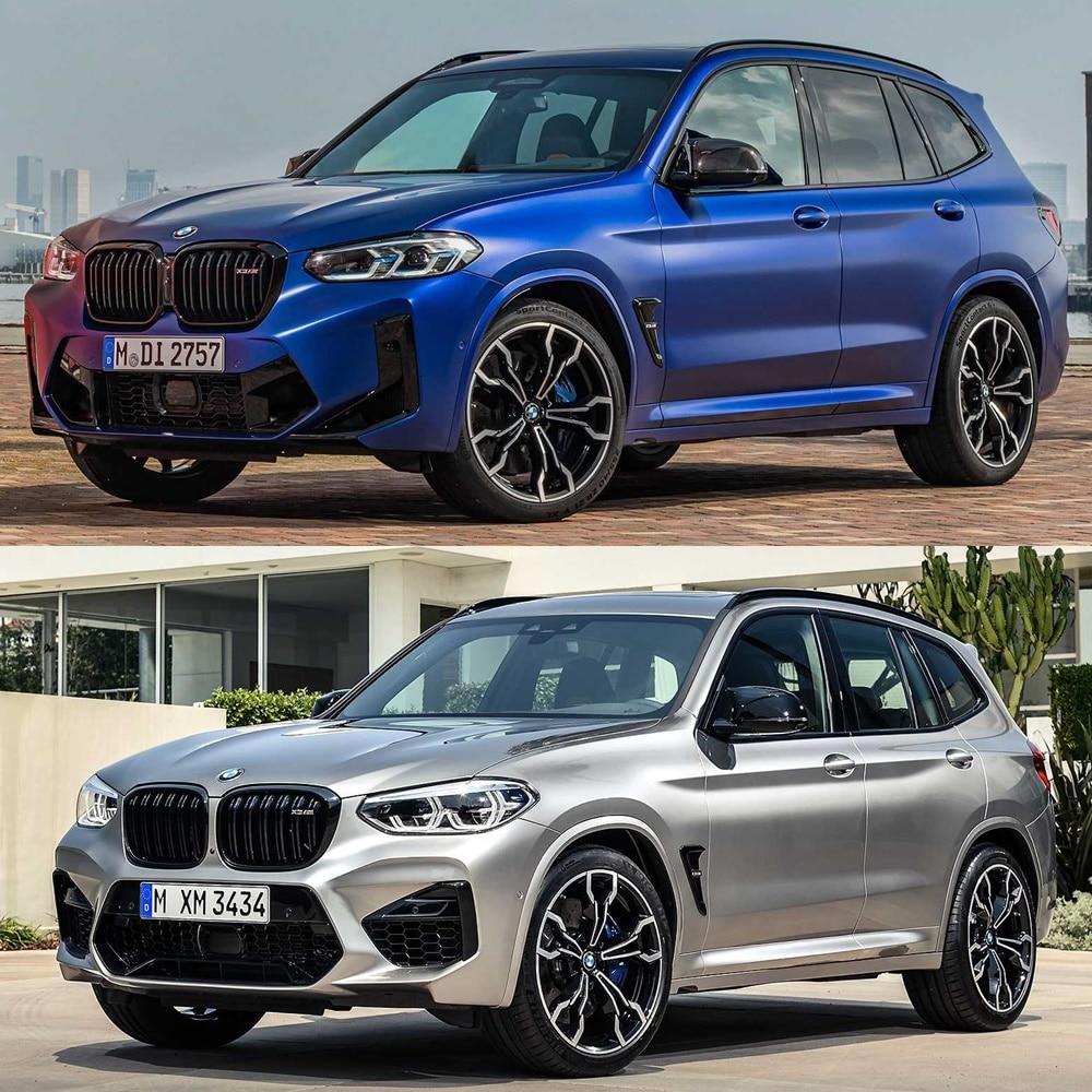 Mejoras visuales para los BMW X3 M y X4 M 202