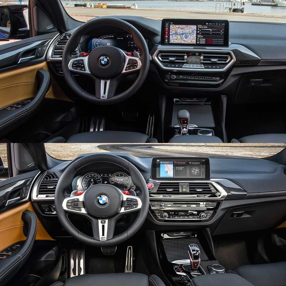 El interior de los BMW X3 M y X4 M 202 cambia ligeramente