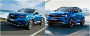 Comparación visual Opel Grandland 2021: ¿Qué te parecen los cambios?