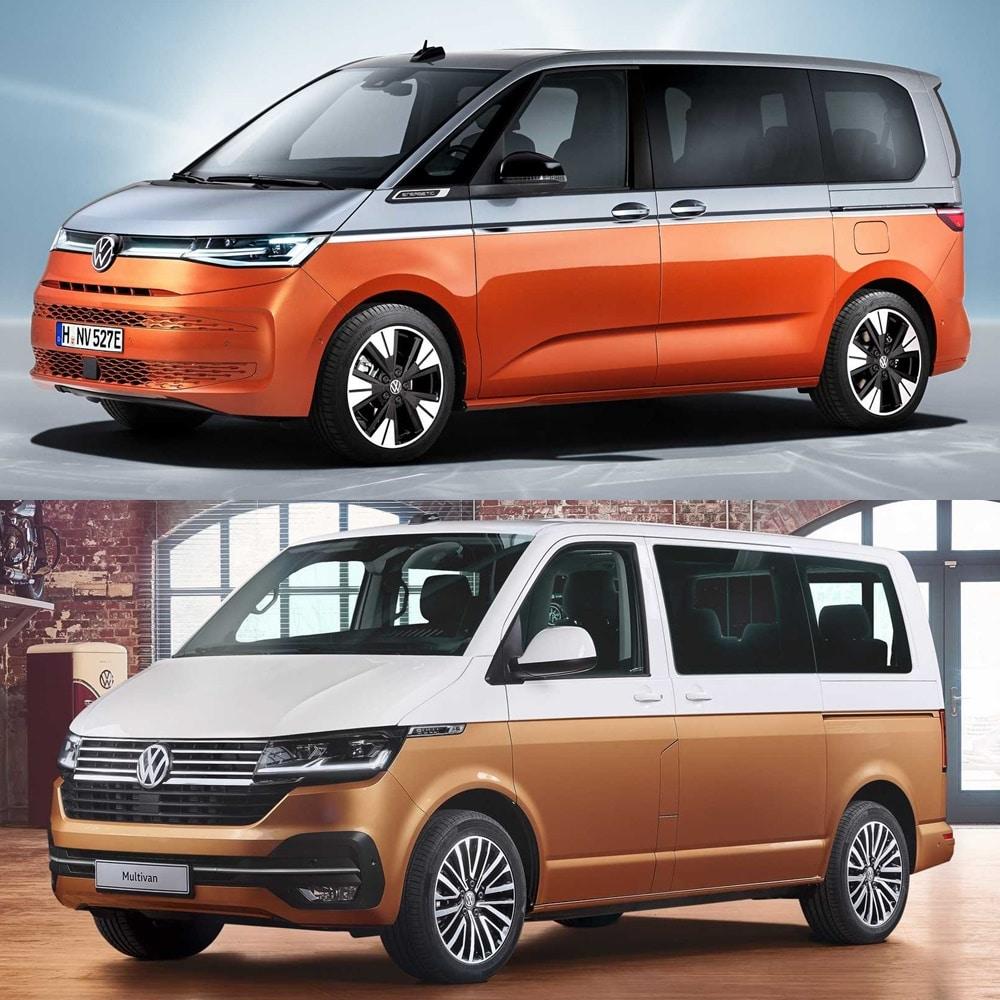 El Volkswagen Multivan 2021 combina rasgos del pasado y presente de la marca