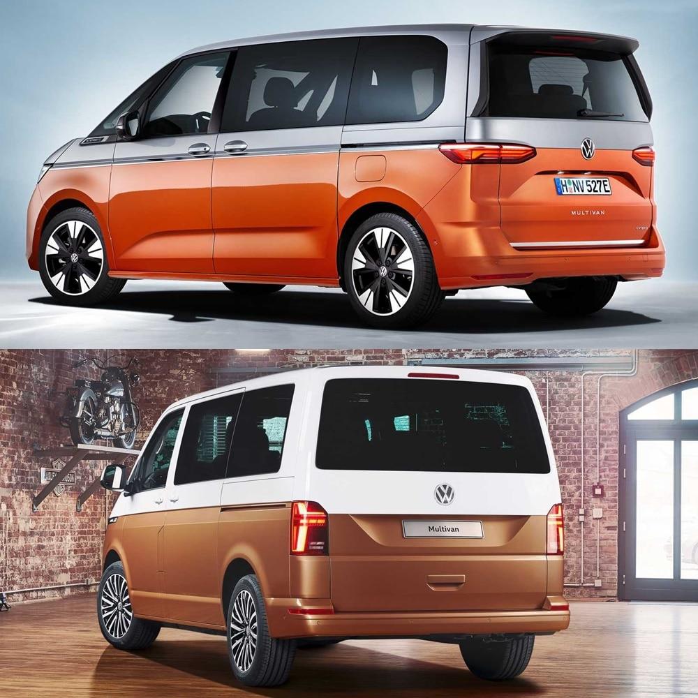 El equipamiento de seguridad del Volkswagen Multivan 2021 es mucho más completo