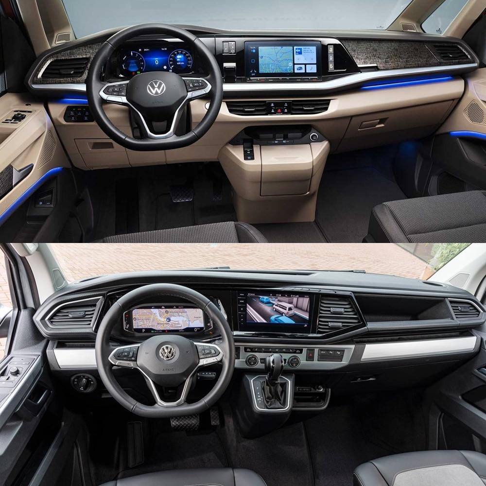 La digitalización toma el interior del Volkswagen Multivan 2021