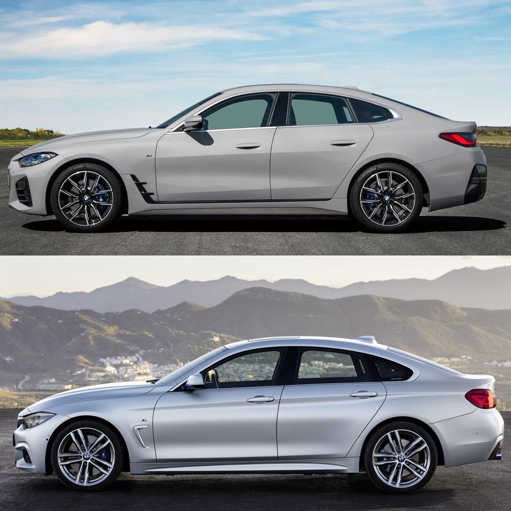 El BMW Serie 4 Gran Coupé cambia sus dimensiones