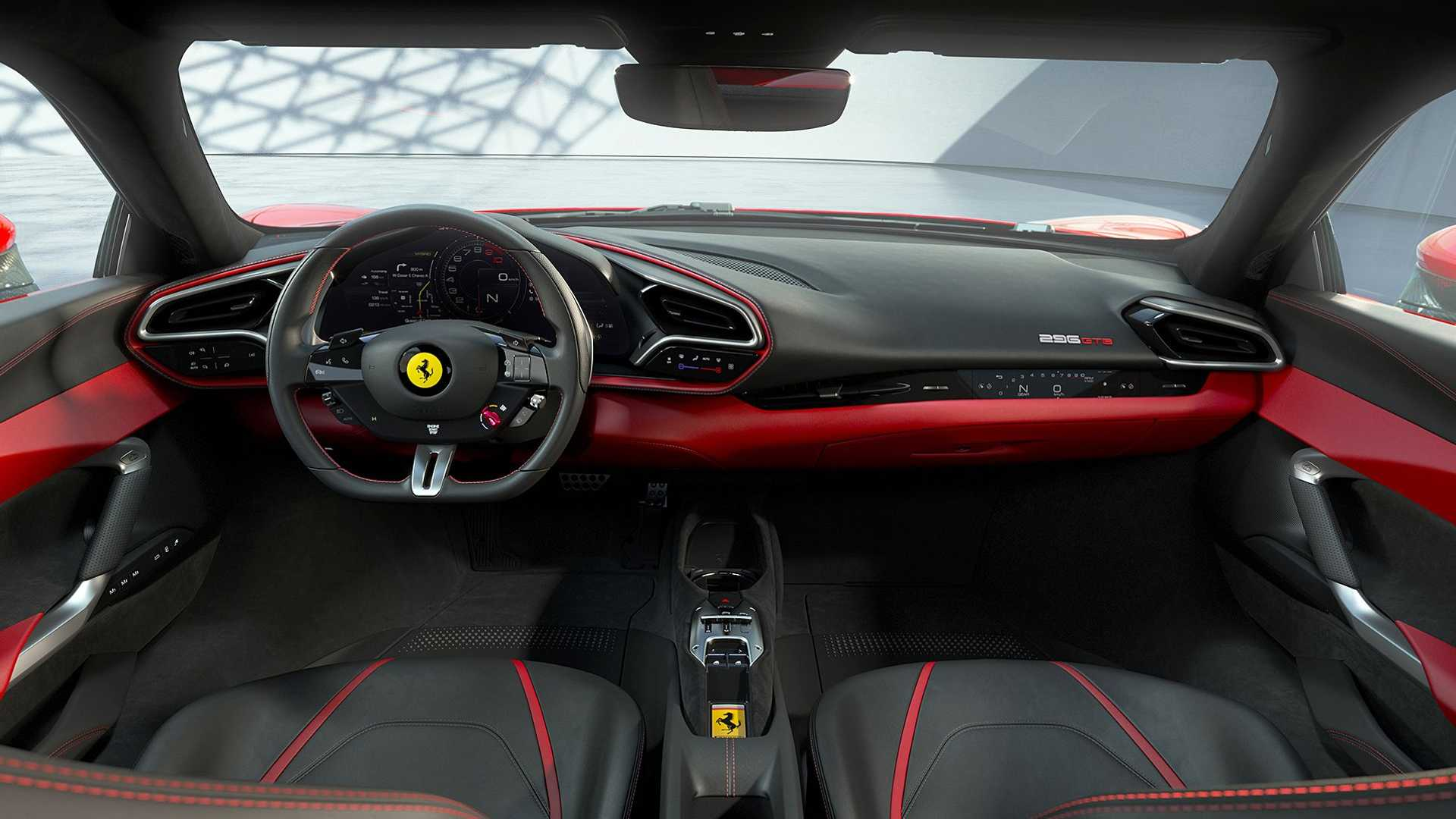 El Ferrari 296 GTB tiene un motor PHEV