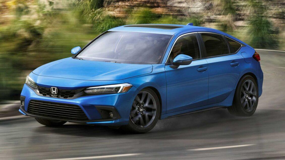 Así es el Honda Civichatchback 2022: ¿Qué te parecen los cambios en el compacto?
