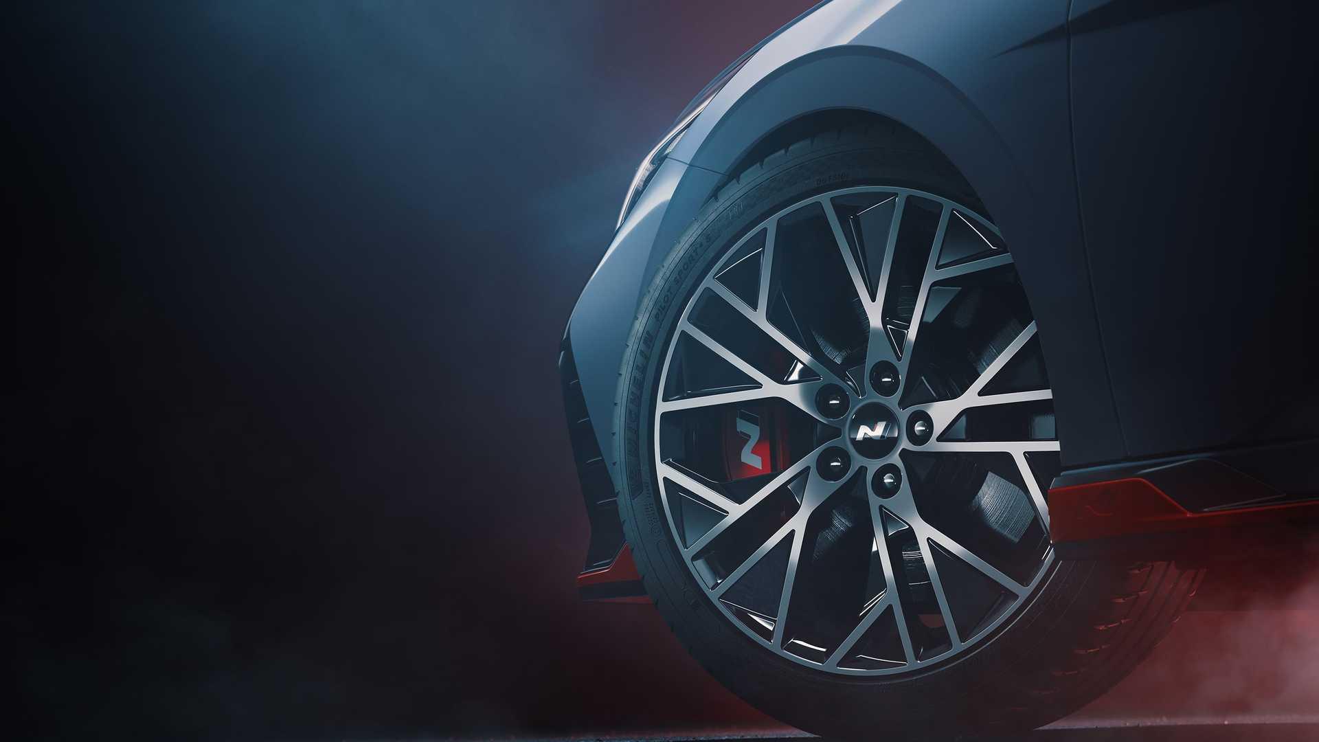 Llanta del Hyundai Elantra N 2022