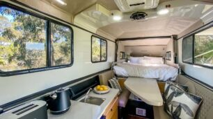 El Kimberley Kampers Classic Karavan está disponible en Australia y Estados Unidos