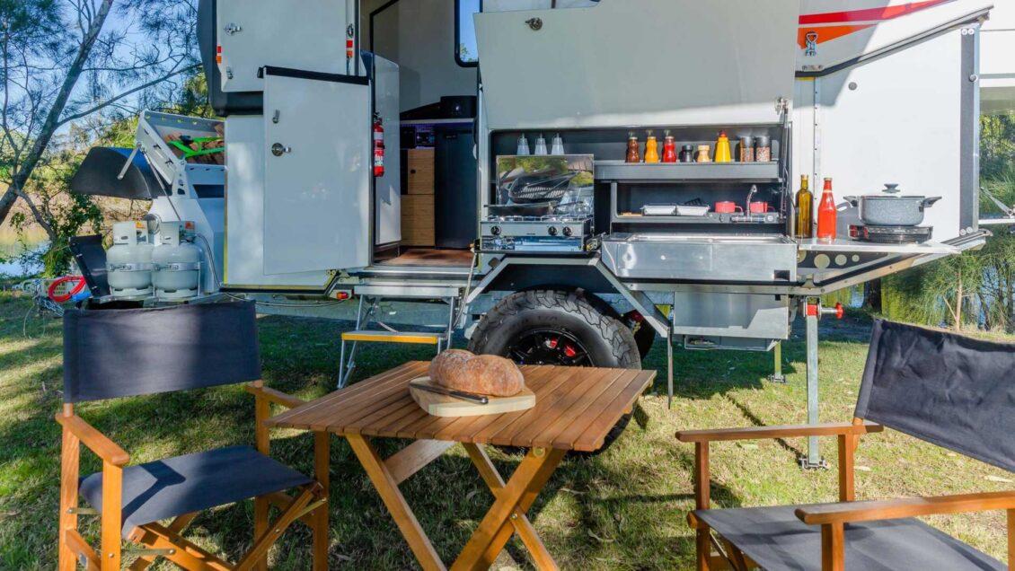El Kimberley Kampers Classic Karavan te ofrece mucho más que algunas autocaravanas