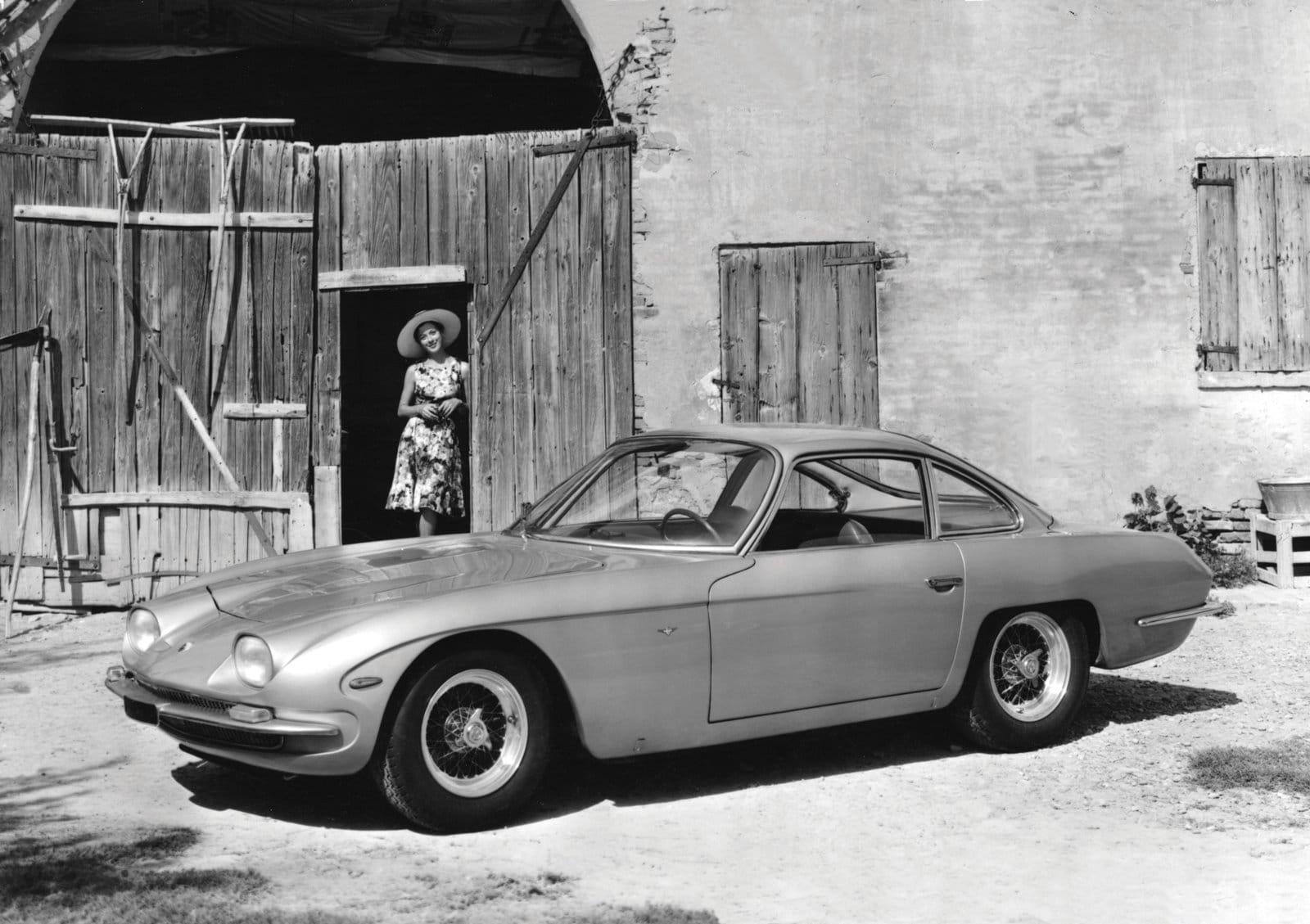 El coche más antiguo oon motor V12 de Lamborghini
