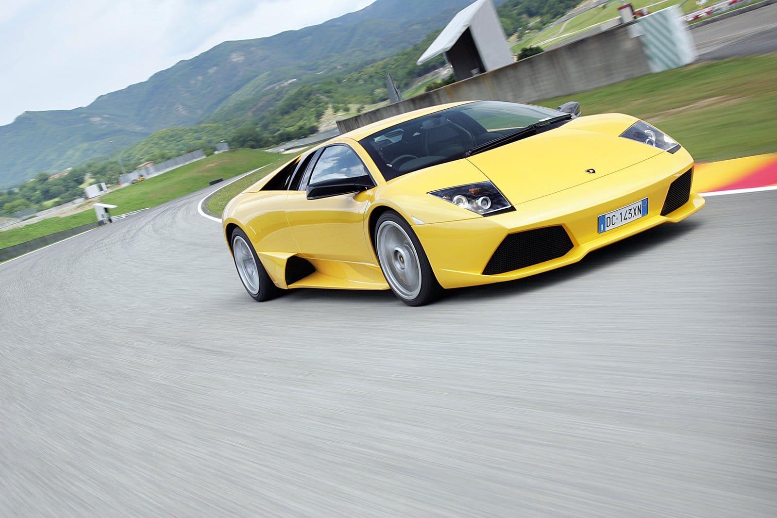 Murciélago con motor V12 de Lamborghini