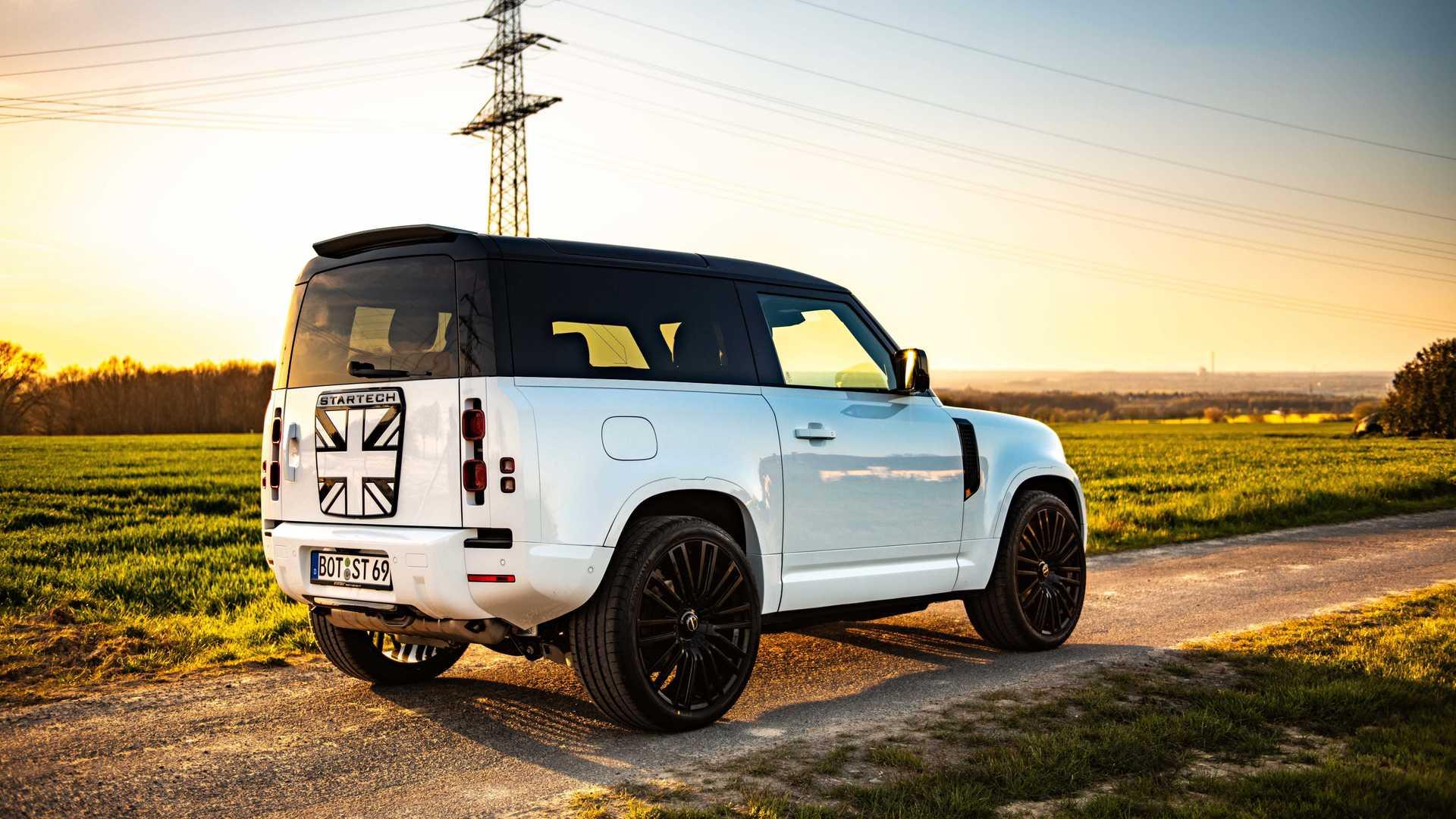 Por ahora no hay novedades mecánicas para el Land Rover Defender de Startech