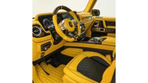 El Mansory AMG G63 Gronos eroga 850 CV