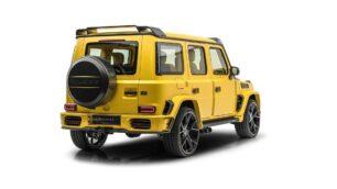 Este Mansory AMG G63 Gronos es una locura amarilla