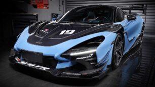 Este McLaren 720S realmente parece un Senna GTR