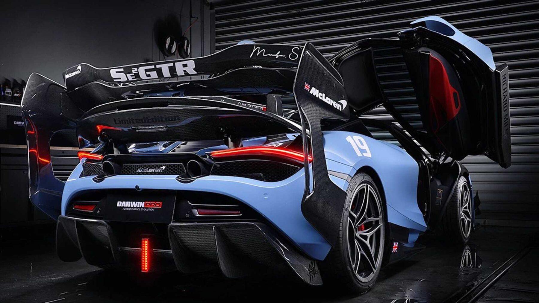 El McLaren 720S de Darwinpro es espectacular