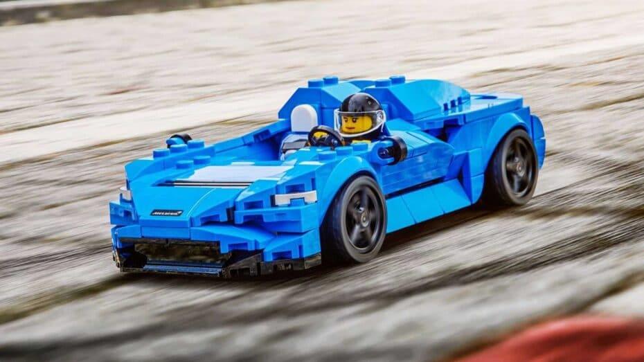 Ya puedes hacerte con el McLaren Elva de LEGO Speed Champions: ¿Fiel a la realidad?