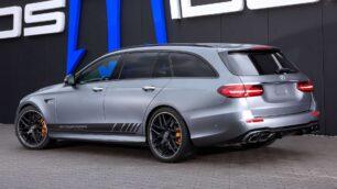El Existen coches que resultan espectaculares según salen de fábrica, como el Mercedes-AMG E 63 S 4MATIC+ de Posaidon no recibe apenas cambios visuales