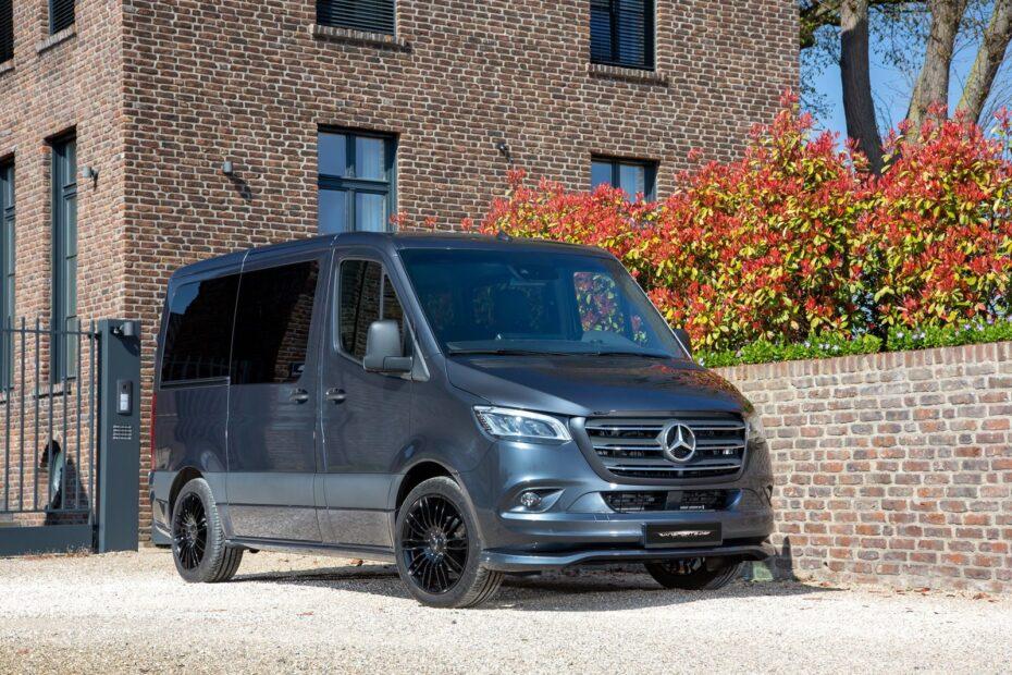 El Mercedes-BenzSprinter de VanSports suma un toque picante al aburrido comercial