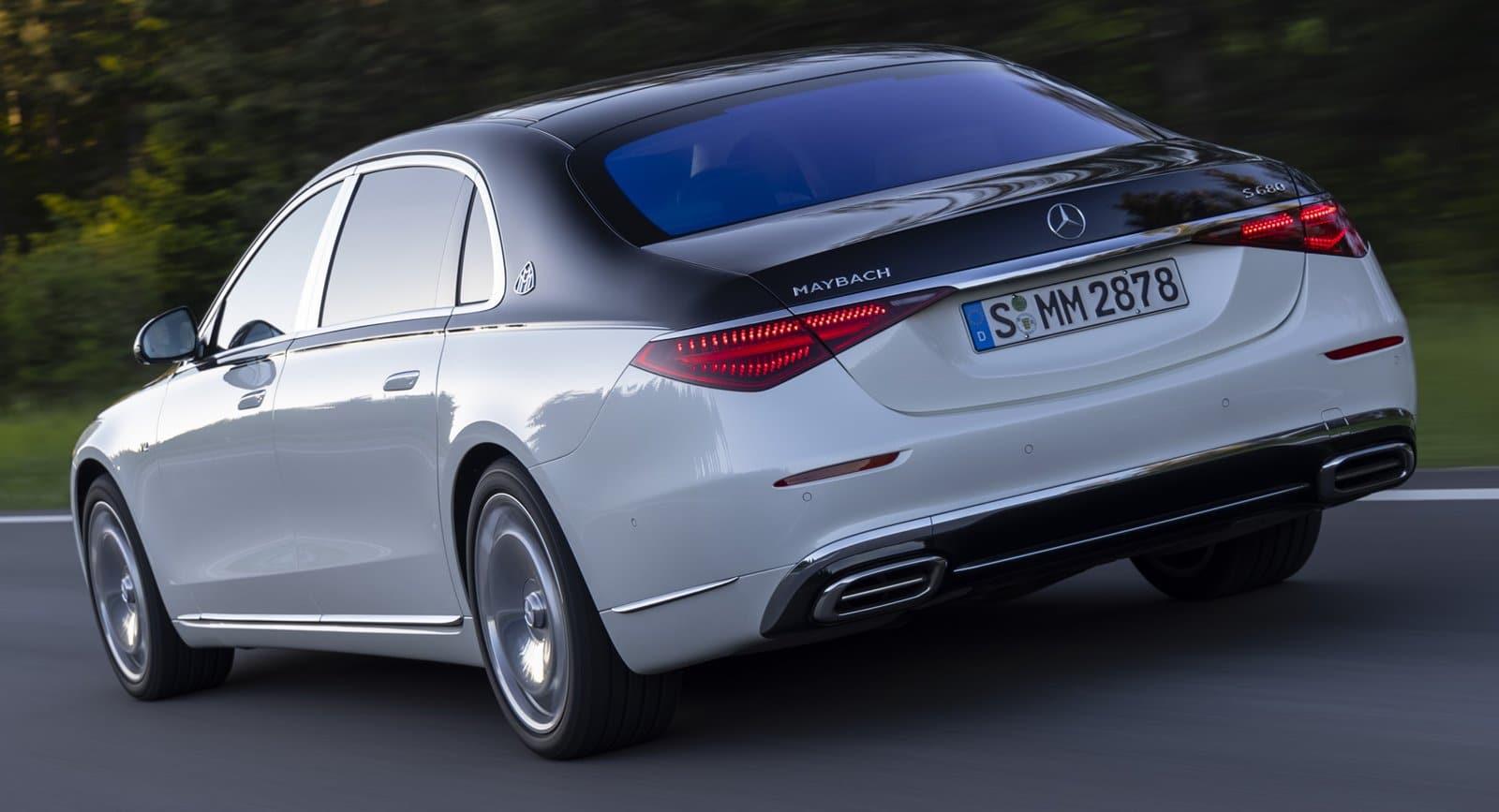 Los nuevos Mercedes-Maybach Clase S aumentan su batalla en 18 cm