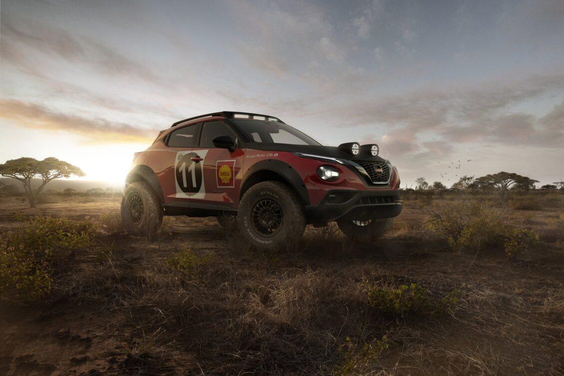 Nissan Juke Rally Tribute Concept: un homenaje que no te importaría ver hecho realidad