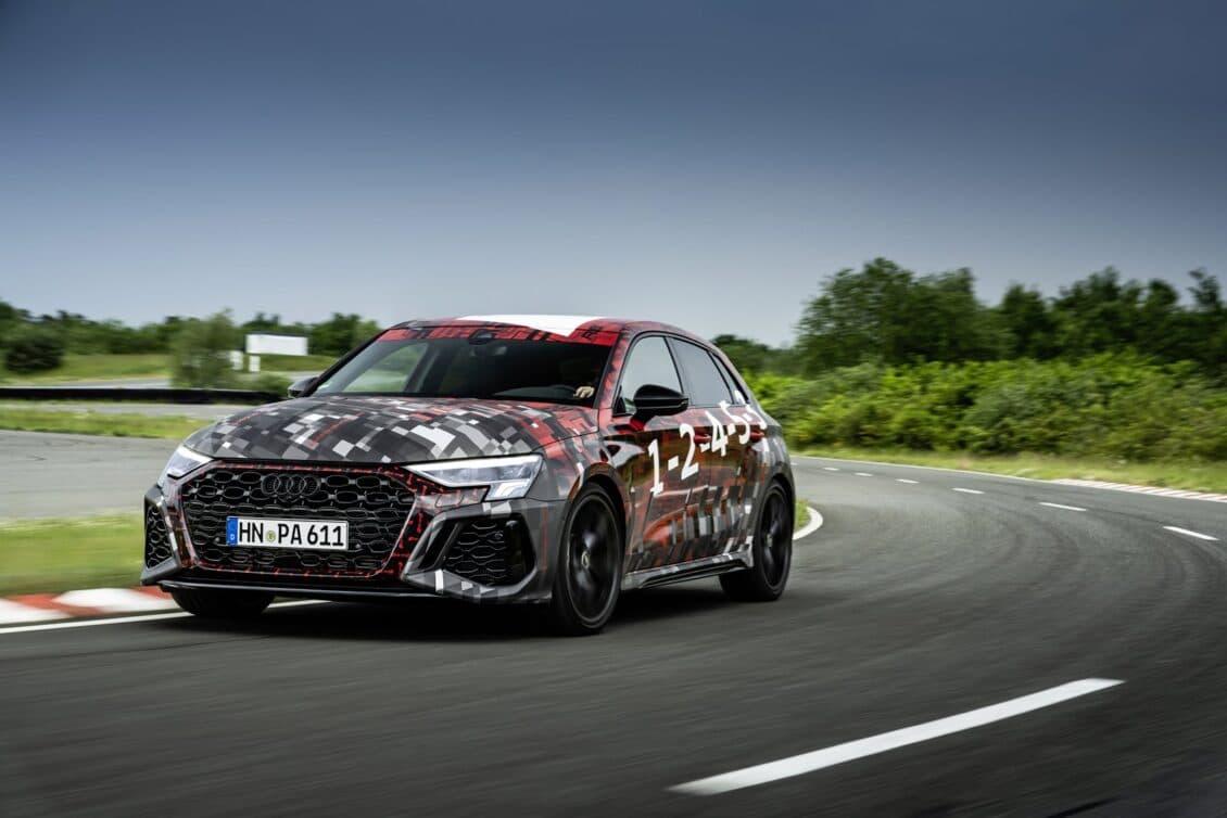 El nuevo Audi RS3 incorpora Torque Splitter, 400 CV y 500 Nm de par