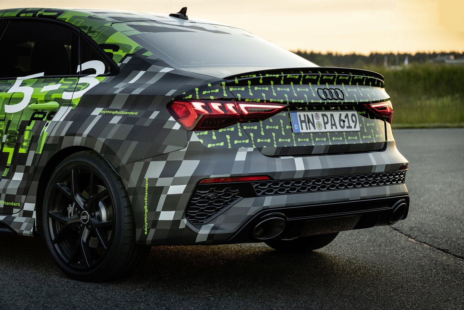 escape nuevo Audi RS3
