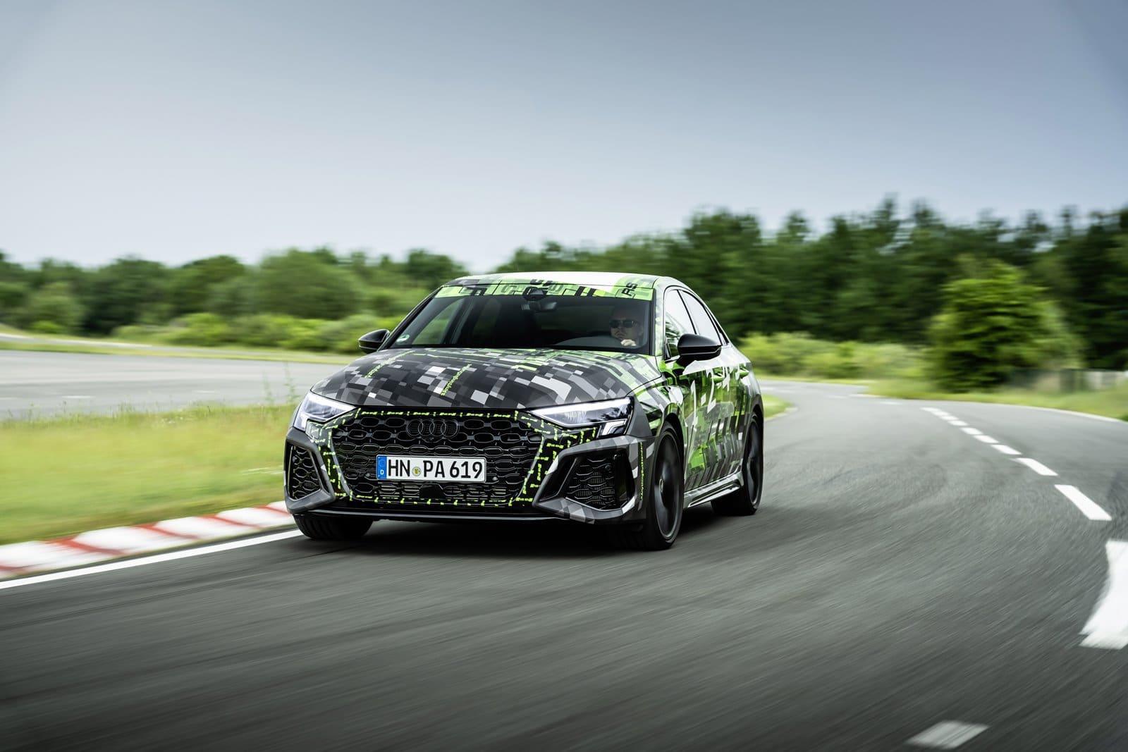 nuevo Audi RS3 sedán
