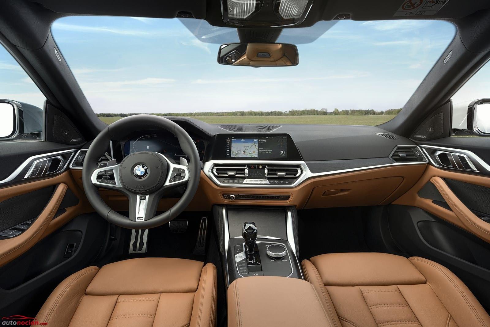 Interior BMW Serie 4 Gran Coupé
