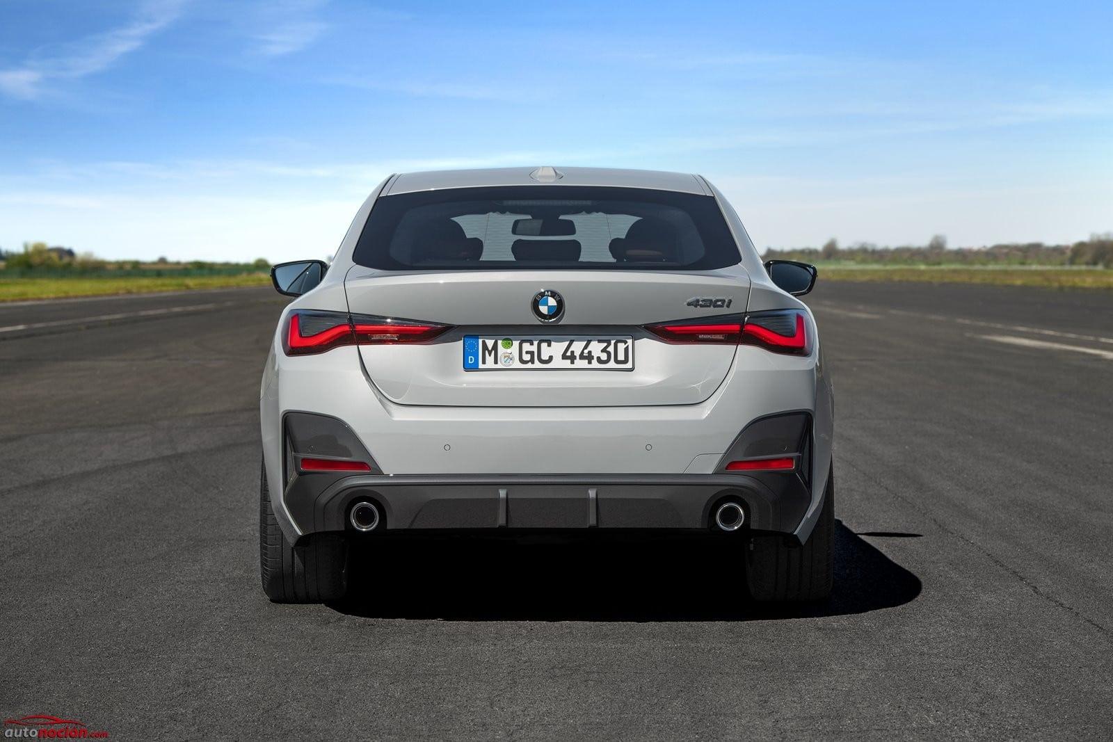 Trasera BMW Serie 4 Gran Coupé