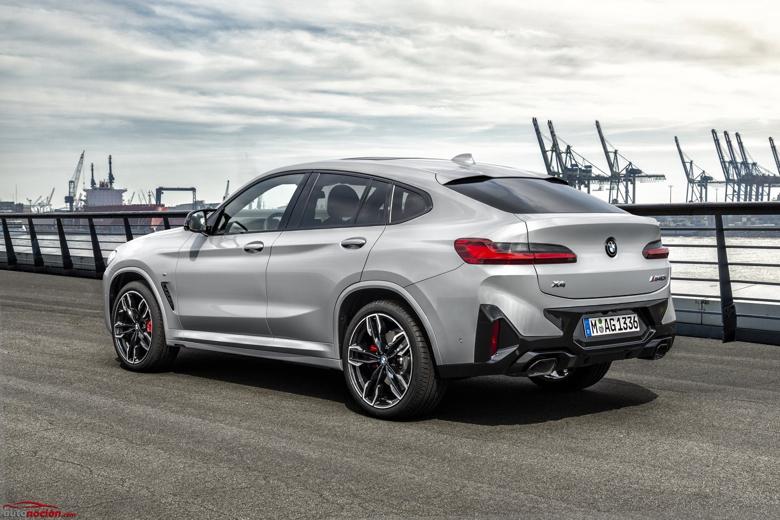 Trasera Nuevo BMW X4