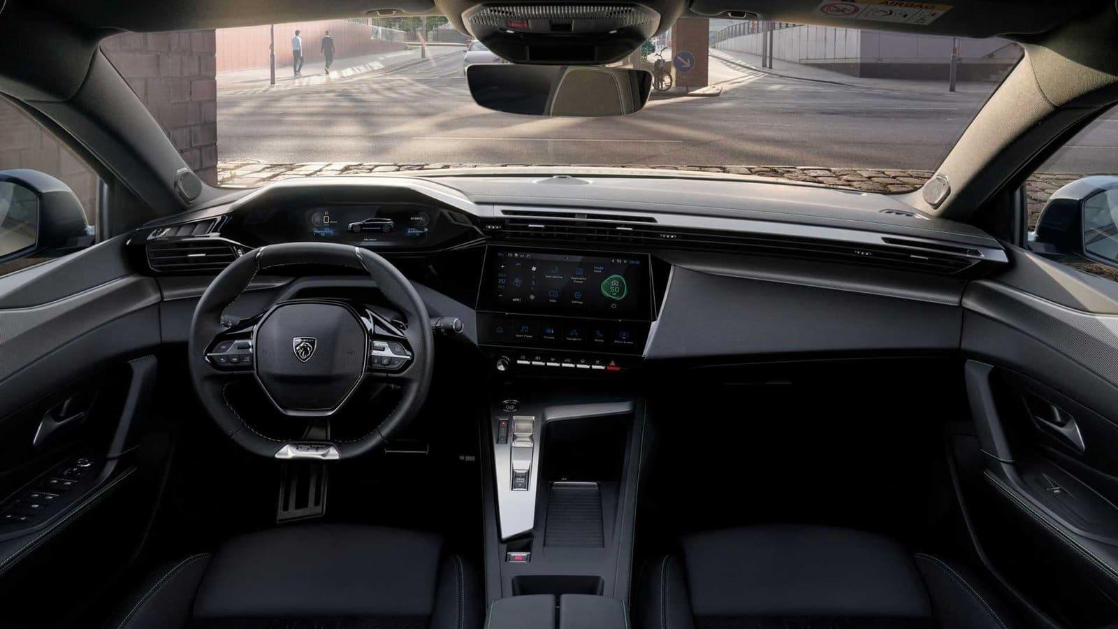 interior nuevo peugeot 308 SW