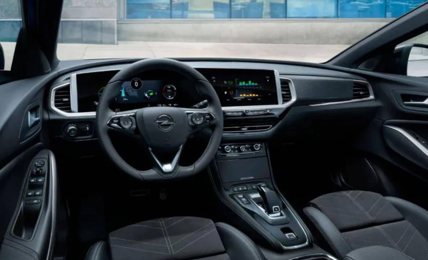 Interior Opel Grandland facelift